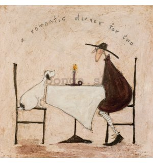 Obraz na plátne - Sam Toft, A Romantic Dinner For Two