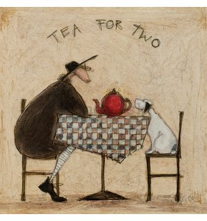 Obraz na plátne - Sam Toft, Tea For Two