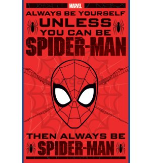 Plagát - Spiderman (Always be Yourself)