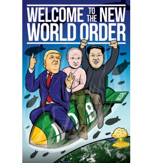 Plagát - Welcome to the New World Order