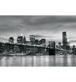 Fototapeta vliesová: Brooklyn Bridge - 184x254 cm