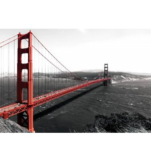 Fototapeta vliesová: Golden Gate Bridge (1) - 254x368 cm