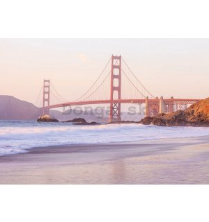 Fototapeta: Golden Gate Bridge (4) - 254x368 cm