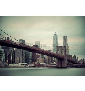 Fototapeta: Brooklyn Bridge (2) - 184x254 cm