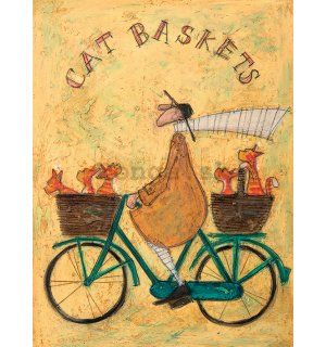 Obraz na plátne - Sam Toft, Cat Baskets