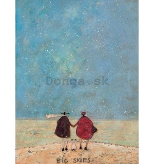 Obraz na plátne - Sam Toft, Big Skies