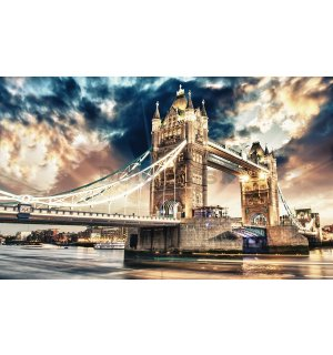 Fototapeta vliesová: Tower Bridge (3) - 184x254 cm