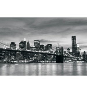 Fototapeta vliesová: Brooklyn Bridge - 254x368 cm