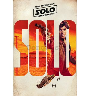 Plagát - Solo A Star Wars Story (Solo Teaser)
