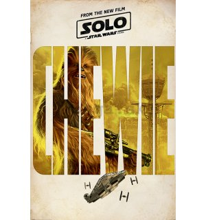 Plagát - Solo A Star Wars Story (Chewie Teaser)