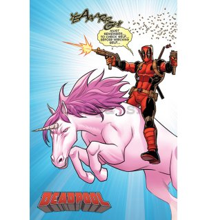 Plagát - Deadpool (Unicorn)