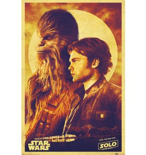 Plagát - Solo A Star Wars Story (Han and Chewie)