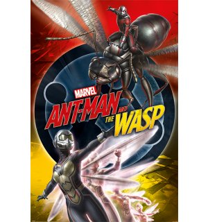 Plagát - Ant-Man and the Wasp (Unite)