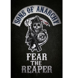 Plagát - Sons of Anarchy (Fear the Reaper)