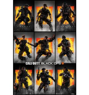 Plagát - Call of Duty Black Ops 4 (Characters)