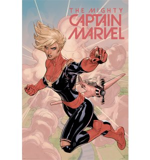 Plagát - Captain Marvel (Flight)