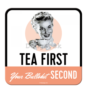 Sada podtáciek 2 - Tea First, Bullshit Second