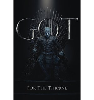 Plagát - Game of Thrones (The Night King For the Throne)