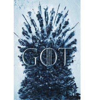 Plagát - Game of Thrones (Throne of the Dead)