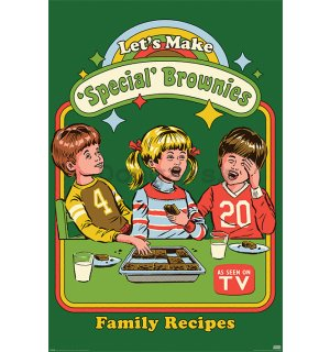 Plagát - Let's Make Special Brownies, Steven Rhodes