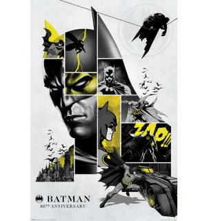 Plagát - Batman 80th Anniversary
