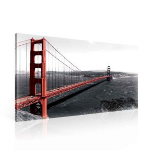 Obraz na plátne: Golden Gate Bridge (3) - 75x100 cm