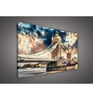 Obraz na plátne: Tower Bridge (3) - 75x100 cm