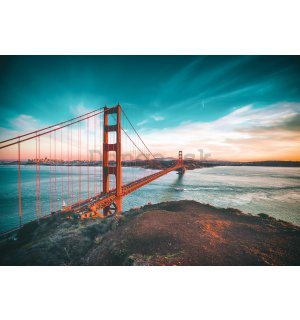 Fototapeta: Most San Francisco - 104x152,5 cm