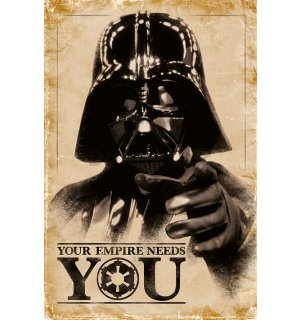 Plagát - Star Wars (Your Empire Needs You)