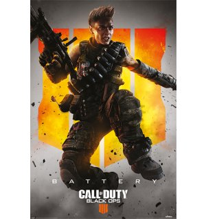 Plagát - Call of Duty: Black Ops 4 (Battery)