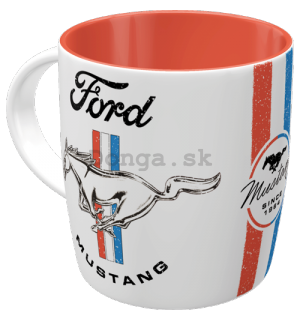 Hrnček - Ford Mustang  (Horse & Stripes)